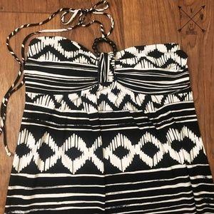 Enfocus Studio Dresses - Plus Size - Strapless Halter Tie Maxi dress Sz 14